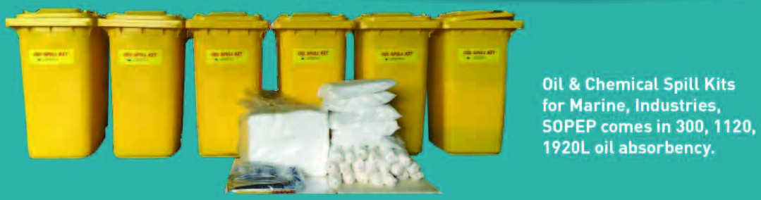 SOPEP, Dispersant / Equipment, Absorbent 4